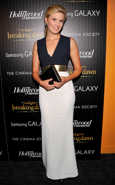 Maggie Grace at the Breaking Dawn — Part 2 premiere in New York City