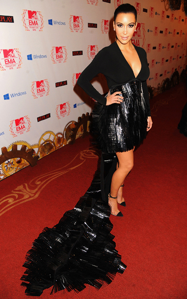 Kim Kardashian in Stephane Rolland