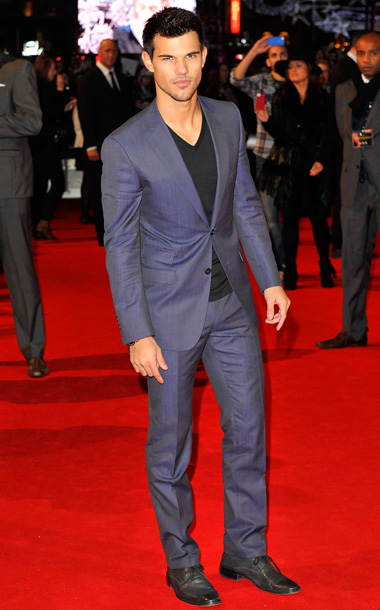 Taylor Lautner at the Breaking Dawn — Part 2 U.K. premiere in London