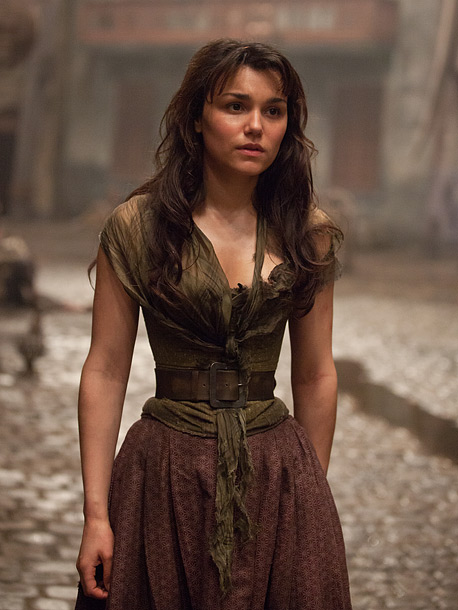 Samantha Barks, Les Misérables (pictured) Amy Adams, The Master Amanda Seyfried, Les Misérables Maggie Smith, The Best Exotic Marigold Hotel Jacki Weaver, Silver Linings Playbook