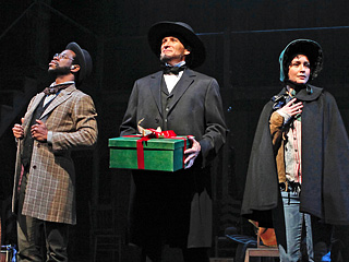 A CIVIL WAR CHRISTMAS Antwayn Hopper, Bob Stillman, Rachel Spencer Hewitt