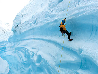 'ICE'-CAPADES Stunning visuals are plentiful in this cautionary-tale documentary.