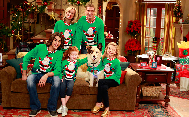 Beth Littleford, Regan Burns, Blake Michael, Francesca Capaldi, Stan the dog, G. Hannelius