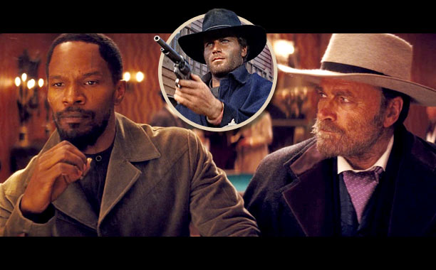 One of Django Unchained 's biggest inspirations was the 1966 movie Django . Its star, Franco Nero, has an extended cameo in Quentin Tarantino's film,…