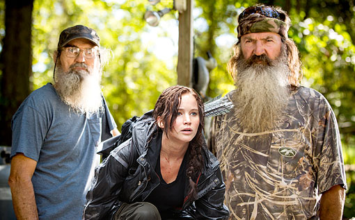 DUCK DYNASTY HUNGER GAMES