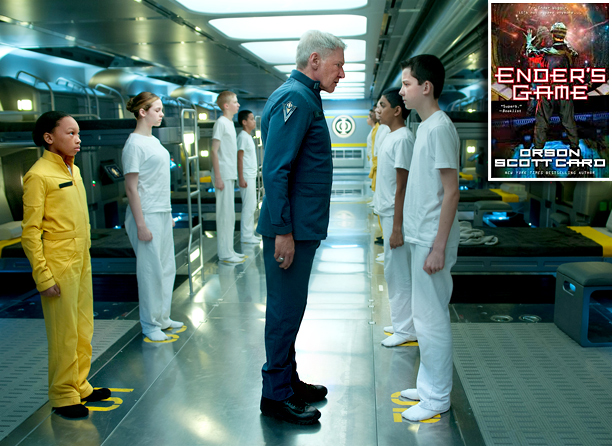 Read Orson Scott Card's Ender's Game before the big-screen adaptation, starring Harrison Ford and Hugo 's Asa Butterfield, hits theaters Nov. 1.