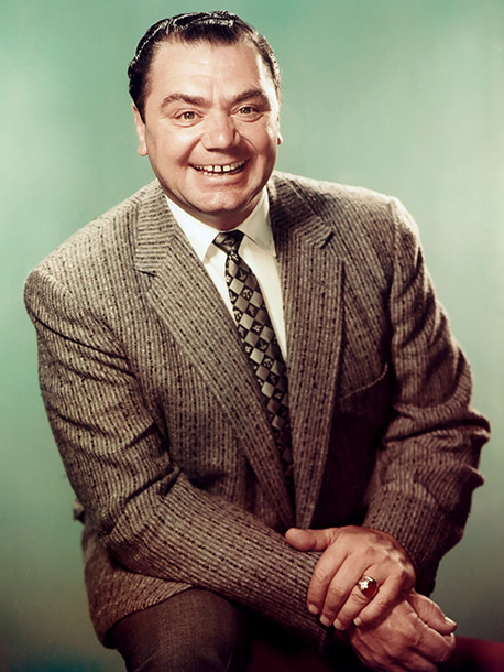 Ernest Borgnine | ''When I first came to Hollywood...this big, gentle teddy bear of a guy slipped his arm around me, took me to the set of McHale's…