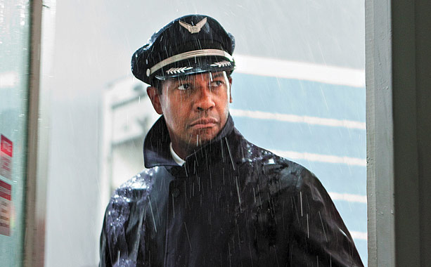 Denzel Washington's explosive role as a pilot who's drunk during a plane crash — but still saves almost everyone on board — could earn him…
