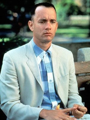 Forrest Gump, Tom Hanks | Forrest Gump (1994) Amen. WAAAAYYY overrated bit of fluff pretending to be important. Plus I can?t believe it beat Pulp Fiction for Best Picture. —…