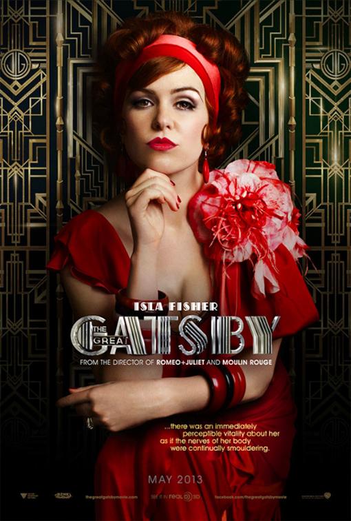 Gatsby Poster Isla Fisher