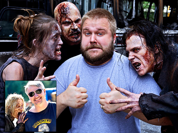 Geek Impact: Mazzara (inset) became the showrunner of The Walking Dead in the middle of an infamous dry spell, and initiated one of the great…