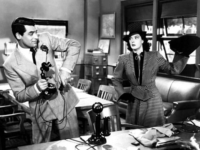 His Girl Friday, Cary Grant, ...   His Girl Friday (1940) Ooh, His Girl Friday is a terrific example because I didn?t care for that brand of humor. While you?re at it,…