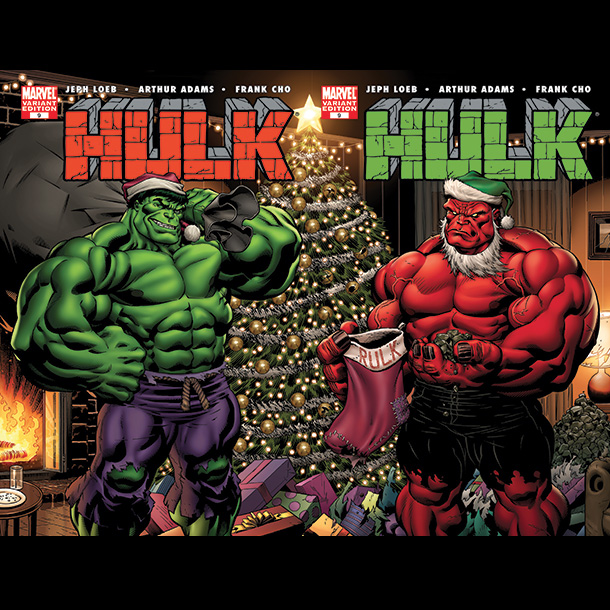 Wait, mindless rage comes in shades of green and red? Yes, it's true, Hulk and the Red Hulk (a.k.a. Rulk) are just made for the…