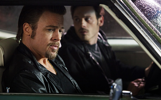 Andrew Dominik's scuzzy gem of a hitman drama is full of outrageously loquacious low-life power duels, all anchored by Brad Pitt's menacingly good performance as…