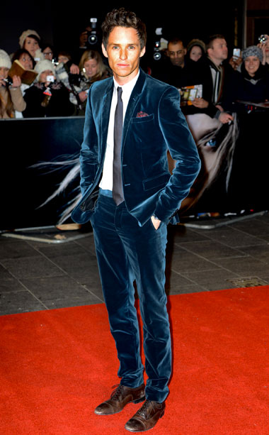 Eddie Redmayne (in Burberry Prorsum)