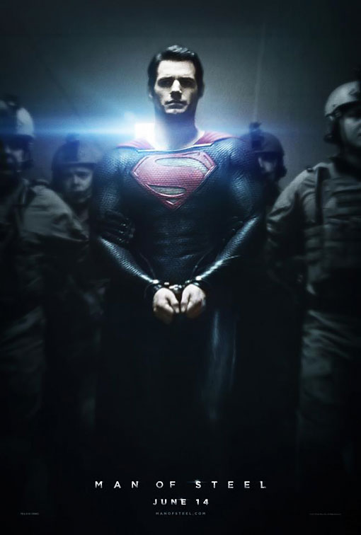 MAN OF STEEL HANDCUFFS