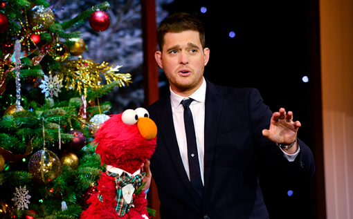 Michael Buble Elmo