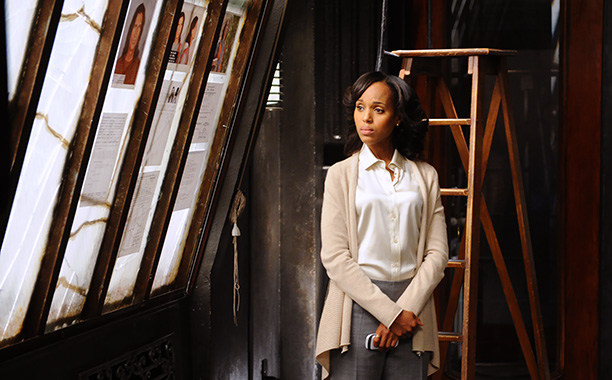 Olivia Pope (Kerry Washington) is a ball-busting, take no prisoners fixer. She's Michael Clayton with just a tiny hint of Ally McBeal when it comes…