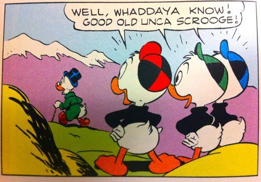 Scrooge-Charity