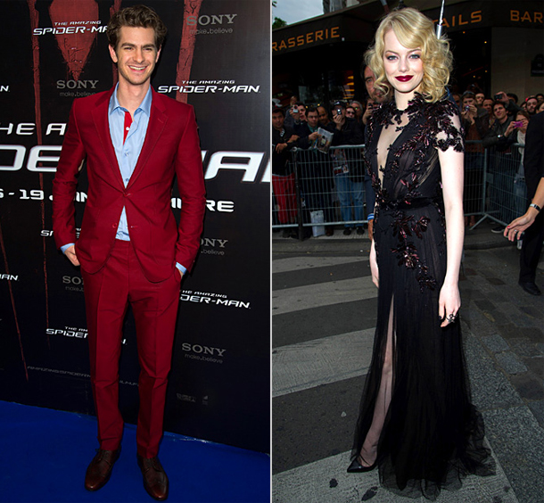 Emma Stone | You'd better watch out , Kristen Stewart and Robert Pattinson! While the Twilight twosome took their last walk for the vampire franchise in 2012, Garfield…
