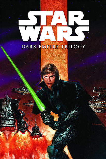 Star Wars | Another dark post-original trilogy tale, the Dark Empire follows Han, Luke, Leia, and the gang in the fight against a resurrected Emperor. Features the distinctive…