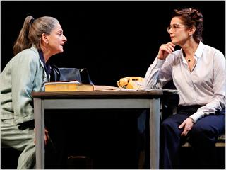 THE ANARCHIST Patti LuPone and Debra Winger