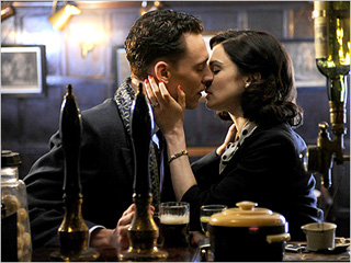 EROTIC TURMOIL Tom Hiddleston and Rachel Weisz are caught in a self-destructive love affair in The Deep Blue Sea