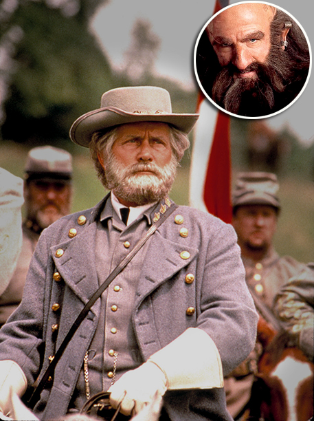 '' Martin Sheen's in Gettysburg was a very impressive beard. It would have taken a lot less time to grow a beard than to get…