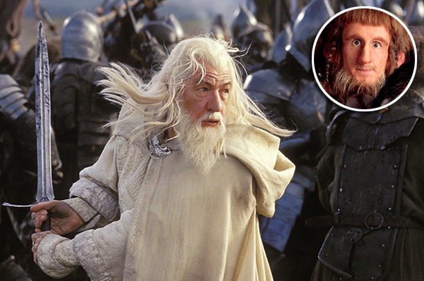 ''I think Ian McKellan's [ Lord of the Rings ] beard is kind of spectacular. I kind of want him to [braid] it with pink…