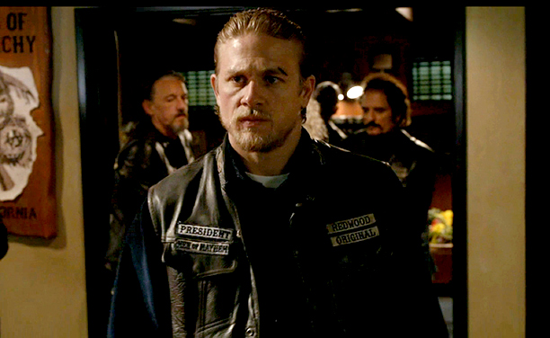 Sons of Anarchy | ''I watched five seasons of Sons of Anarchy . I resisted for ages because I had no interest in watching a show about a motorcycle…