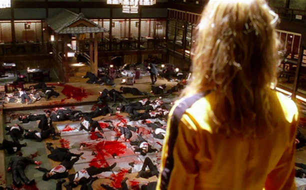Kill Bill -- Vol. 1 | Tarantino's '90s films had a bloody reputation, but they usually built up gradually to gory moments. Something shifted in the last decade, though. Kill Bill…