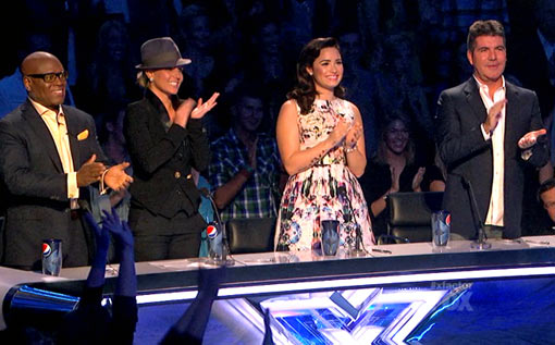X Factor Ovation