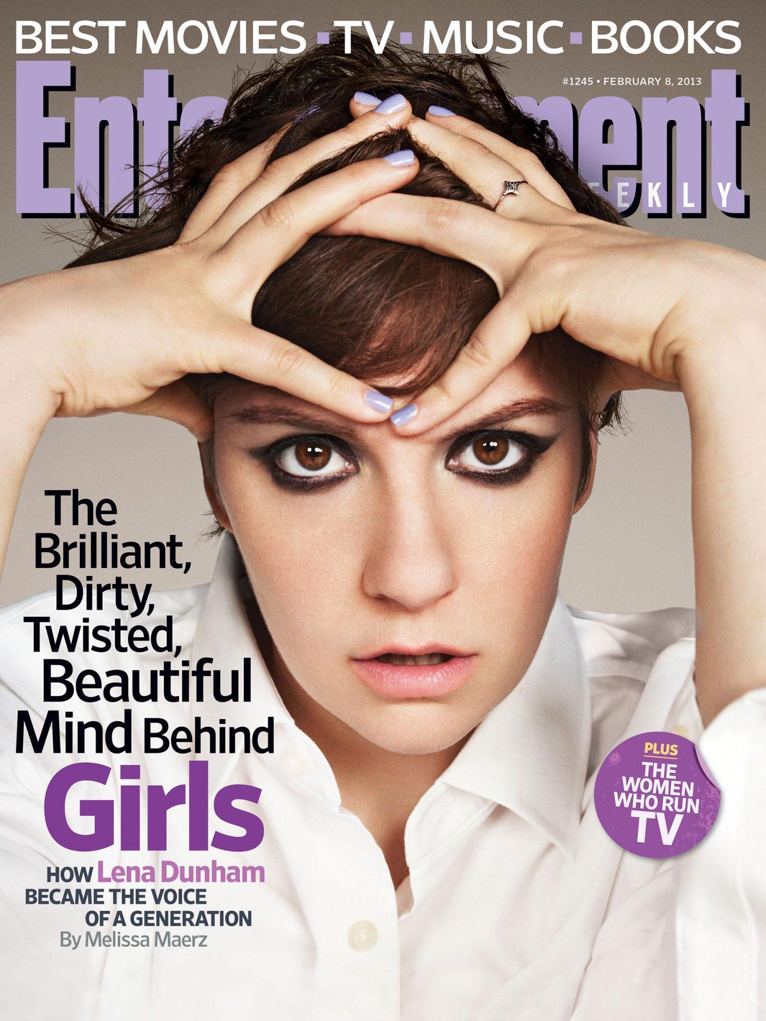 Entertainment WeeklyLena DunhamFebruary 8, 2013# 1245