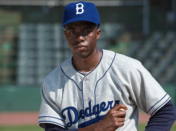 Brian Helgeland's ( A Knight's Tale ) biopic marks the second feature film about baseball hero and civil rights pioneer Jackie Robinson. Relative unknown Chadwick…