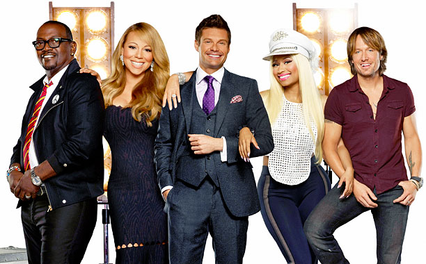 Premiere date: Jan. 16 Stars: New judges Mariah Carey, Keith Urban, and Nicki Minaj; returning judge Randy Jackson; and host Ryan Seacrest What to expect…