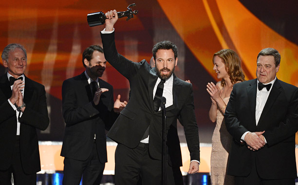 With a Golden Globe, a Producer's Guild Award, and now a SAG statuette for Outstanding Motion Picture Ensemble, Ben Affleck may be Hollywood's winningest snubbee…