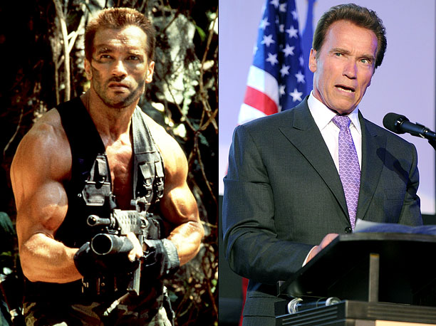 Most of Schwarzenegger's most iconic characters have achieved high levels of success in the law enforcement or the military, despite the fact that they obviously…