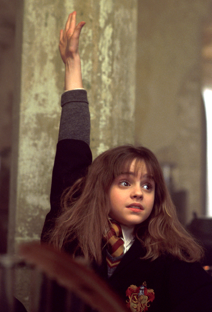 Though occasionally an insufferable know-it-all, Hogwarts' most clever student (Emma Watson) taught us many things: House-elves have feelings; Hogwarts, A History can always help one…