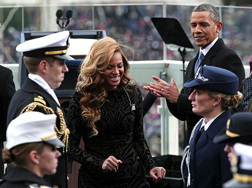 Beyonce Marine Band