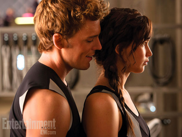 The Hunger Games   ''Pressure, pressure, the pressure is on,'' says good-natured Sam Claflin about stepping into the net of District 4's charismatic golden boy. ''I'm on Twitter and…