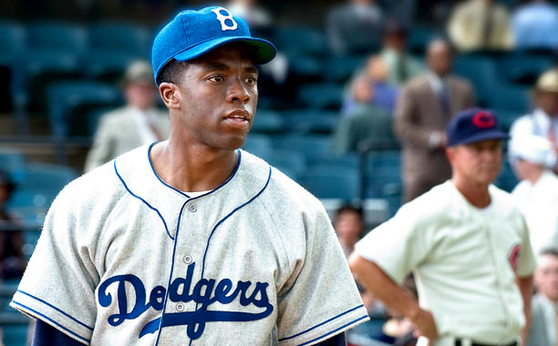 Coming Attraction: 42 Why He'll Be Big: Not only does Boseman hold his own next to Harrison Ford in the Jackie Robinson biopic 42 (out…