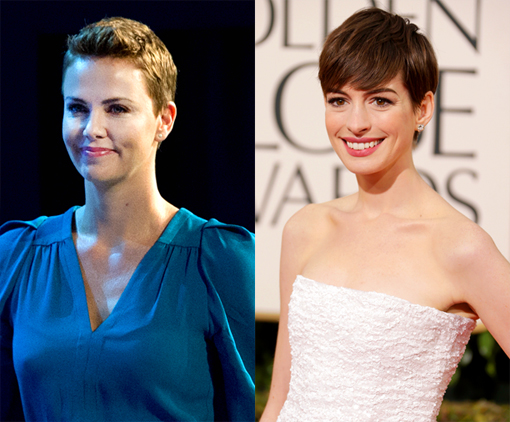 Charlize Theron Anne Hathaway