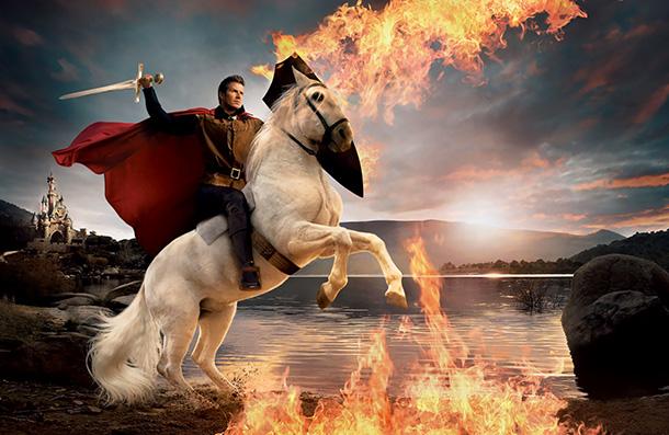David Beckham as Prince Phillip