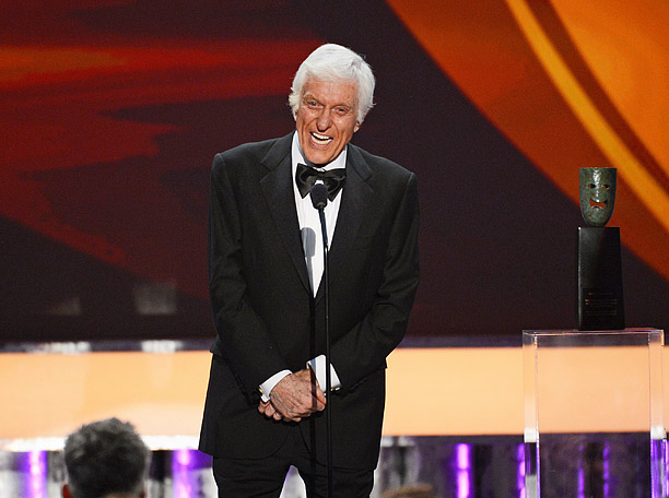 Accepting his Lifetime Achievement Award, 87-year-old Dick Van Dyke hopped up on the stage with the same spring in his step as the day audiences…