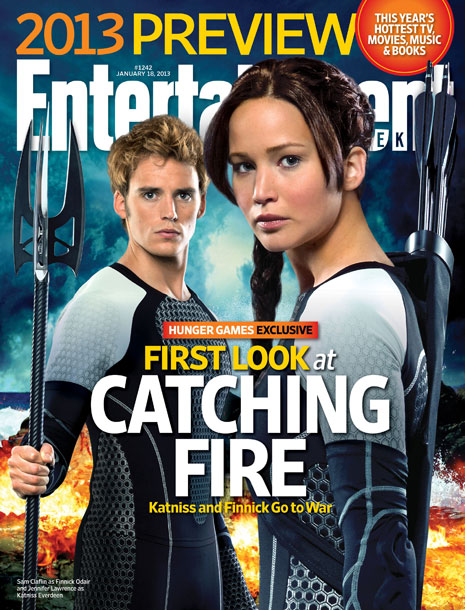 The Hunger Games | For more exclusive Catching Fire photos, pick up EW on newsstands Friday or buy the issue online now.