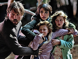 'MAMA' Nikolaj Coster-Waldau, Jessica Chastain, Isabelle Nelisse and Megan Charpentier star in this horror flick