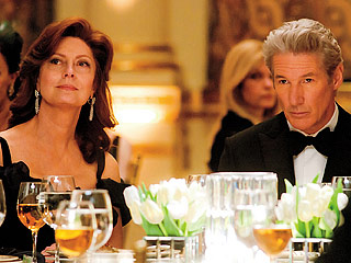 ONE PERCENT Susan Sarandon and Richard Gere play a couple whose pampered life is rocked by financial scandal