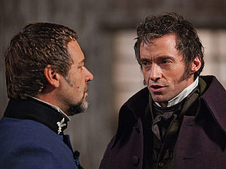 VOCAL GUMPTION Bringing the classic musical to the silver screen, Russell Crowe and Hugh Jackman are a vocal force to be reckoned with