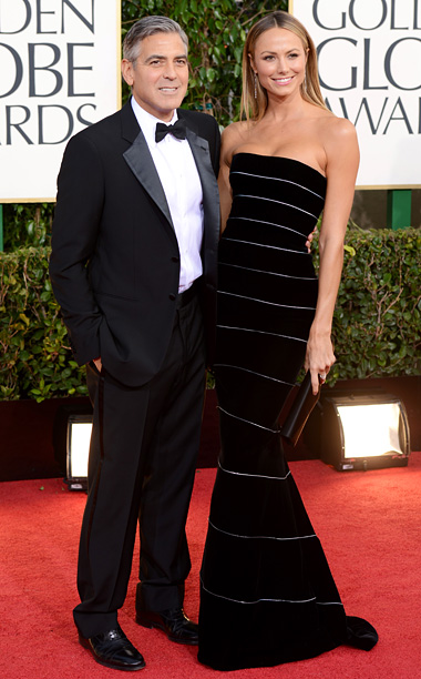Golden Globe Awards 2013   Designer: Giorgio Armani (both)