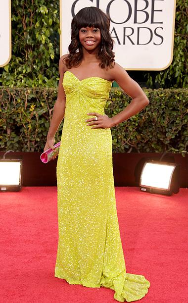 Golden Globe Awards 2013   Designer: Pamella Roland